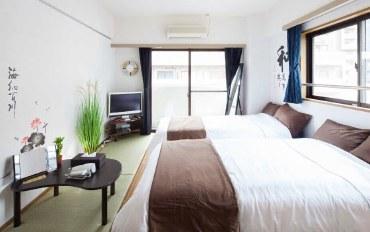 东京酒店公寓住宿:新宿站电车2分钟,日式温馨家庭房!#18