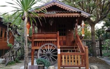 曼谷酒店公寓住宿:泰式小木屋- Buffalo Room