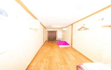 全州酒店公寓住宿:传统韩屋取乐堂-长工房