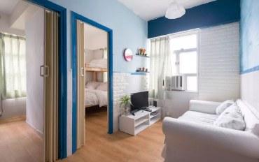 香港酒店公寓住宿:九龙中心地带2房近地铁#14L