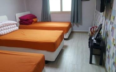 江陵酒店公寓住宿:K guesthouse-3人床房