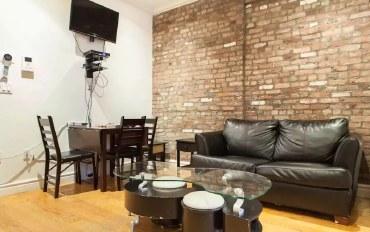 纽约酒店公寓住宿:舒适两室公寓 最多可住6人