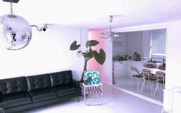 首尔酒店公寓住宿:位于梨泰院的三居室房