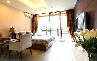 平昌郡酒店公寓住宿:特级酒店式结构/标准2人公寓B
