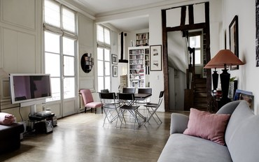 巴黎酒店公寓住宿:塞纳河畔公寓-巴黎六区圣吉尔曼