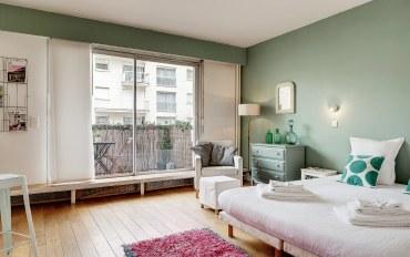 巴黎酒店公寓住宿:托卡德露台公寓-巴黎十六区