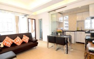 香港酒店公寓住宿:旺角通菜街2房1厅 #T061