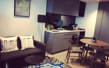 墨尔本酒店公寓住宿:市中心1房1卫公寓 3张单人床