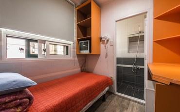 韩国酒店公寓住宿:Hostel Korea 单人房