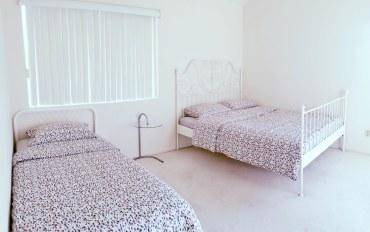 洛杉矶酒店公寓住宿:柔似蜜联排别墅阳光房 三人间