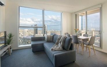 墨尔本酒店公寓住宿:海景公寓两室一厅一卫一车位