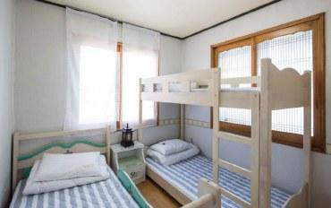 济州岛酒店公寓住宿:玩/休息民宿-清新3人房