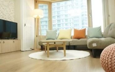 釜山酒店公寓住宿:海云台 Marin City两居室