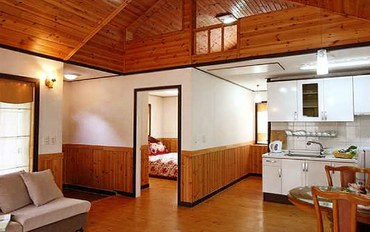 平昌郡酒店公寓住宿:复式结构 度假屋 4人间