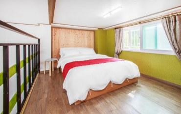 平昌郡酒店公寓住宿:森林度假 复式2人大床房B