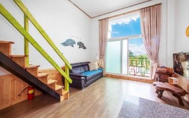 平昌郡酒店公寓住宿:森林度假 复式2人大床房A