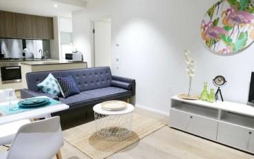 墨尔本酒店公寓住宿:无敌水景两房公寓