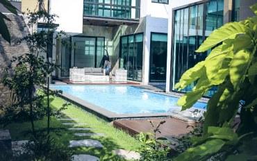 曼谷酒店公寓住宿:苏比独栋私家别墅(富人区带私家游泳池)