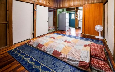 冲绳酒店公寓住宿:靠近牧志车站和国际通大街的民宿,能住多人