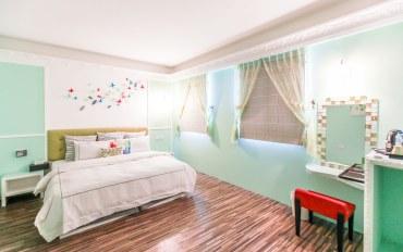 宜兰酒店公寓住宿:绿色大地双人套房