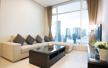 马来西亚酒店公寓住宿:KLCC双子塔干净明亮高级公寓3卧2卫