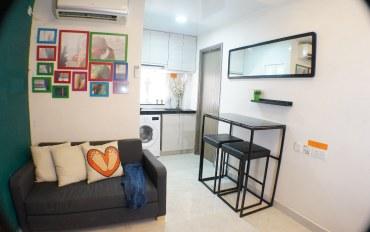 香港酒店公寓住宿:(4M)佐敦地铁3分钟,住5人