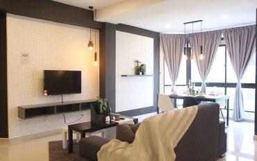 马来西亚酒店公寓住宿:飞轮海88简约设计高级公寓