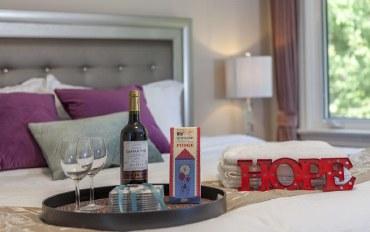 多伦多酒店公寓住宿:多伦多北约克地铁别墅- 特大床套房