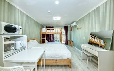 济州岛酒店公寓住宿:近山房山的二人度假屋(带厨房)