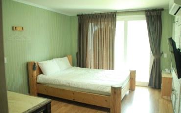 济州岛酒店公寓住宿:近山房山的清新度假屋(带厨房)