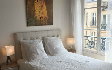 巴黎酒店公寓住宿:巴黎中心米亚的空间时尚独立公寓