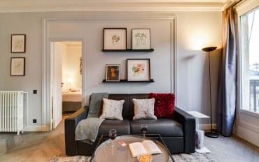 巴黎酒店公寓住宿:巴黎市中心三卧两浴现代公寓