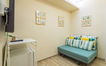 香港酒店公寓住宿:牛奶姐姐(地铁口-日式优雅-两房一厅)