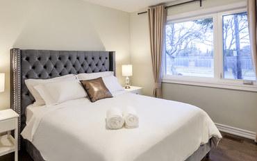 多伦多酒店公寓住宿:多伦多Finch地铁站别墅- 大床套房