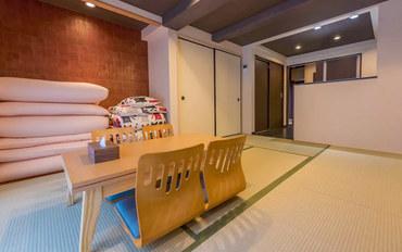 京都酒店公寓住宿:北野天满宫B江户风情庭院和式屋