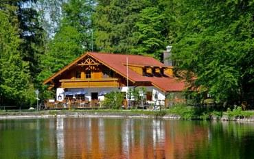 巴伐利亚州酒店公寓住宿:天鹅堡湖畔小筑