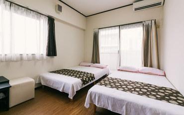 福冈酒店公寓住宿:博多10分附近24h超市便利店免费WiF