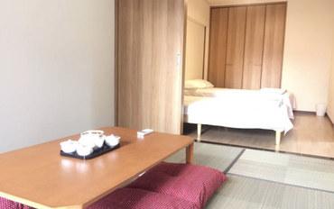 福冈酒店公寓住宿:博多10分钟,3卧室榻榻米房间