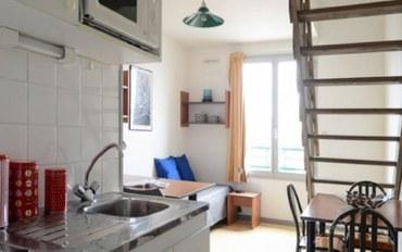 巴黎酒店公寓住宿:巴士底广场复式房