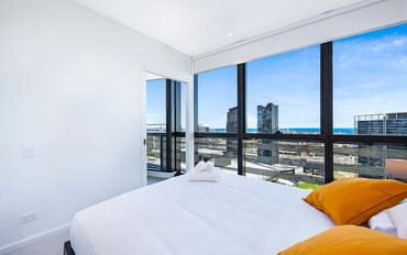 墨尔本酒店公寓住宿:墨尔本海港全景海景公寓DL22703