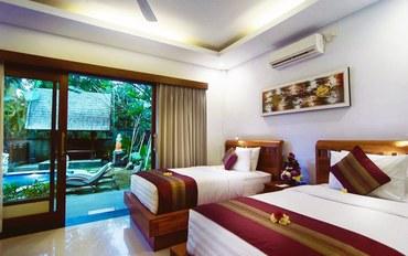 巴厘岛酒店公寓住宿:阿莫亚宾馆豪华大床或双床房