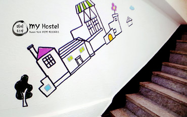 韩国酒店公寓住宿:我的旅馆-家庭房