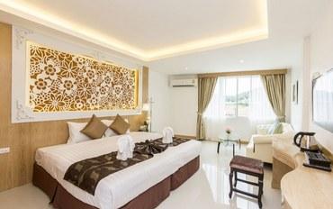 普吉岛酒店公寓住宿:巴东三品宫殿设计酒店超豪华浴缸大床房