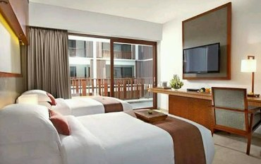 巴厘岛酒店公寓住宿:马格拉尼温泉酒店豪华大床或双床房