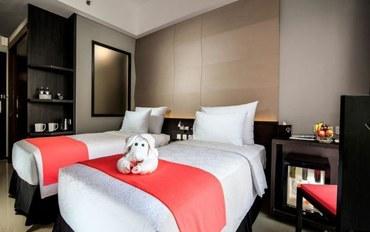 巴厘岛酒店公寓住宿:巴厘岛时尚酒店无景观高级大床或双床房