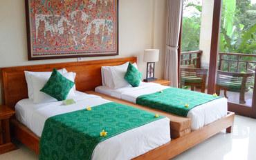 巴厘岛酒店公寓住宿:加纳塔Spa度假酒店豪华大床或双床房