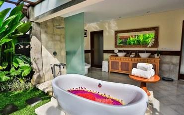 巴厘岛酒店公寓住宿:维塞萨乌布度假村两间卧室带泳池亲子别墅