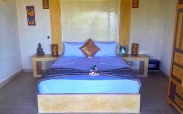 巴厘岛酒店公寓住宿:安静2号别墅四人房