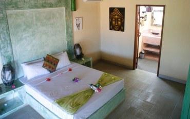 巴厘岛酒店公寓住宿:安静2号别墅2人大床房