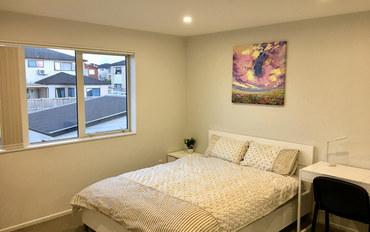 新西兰酒店公寓住宿:奥克兰近机场商圈别墅内主人套房